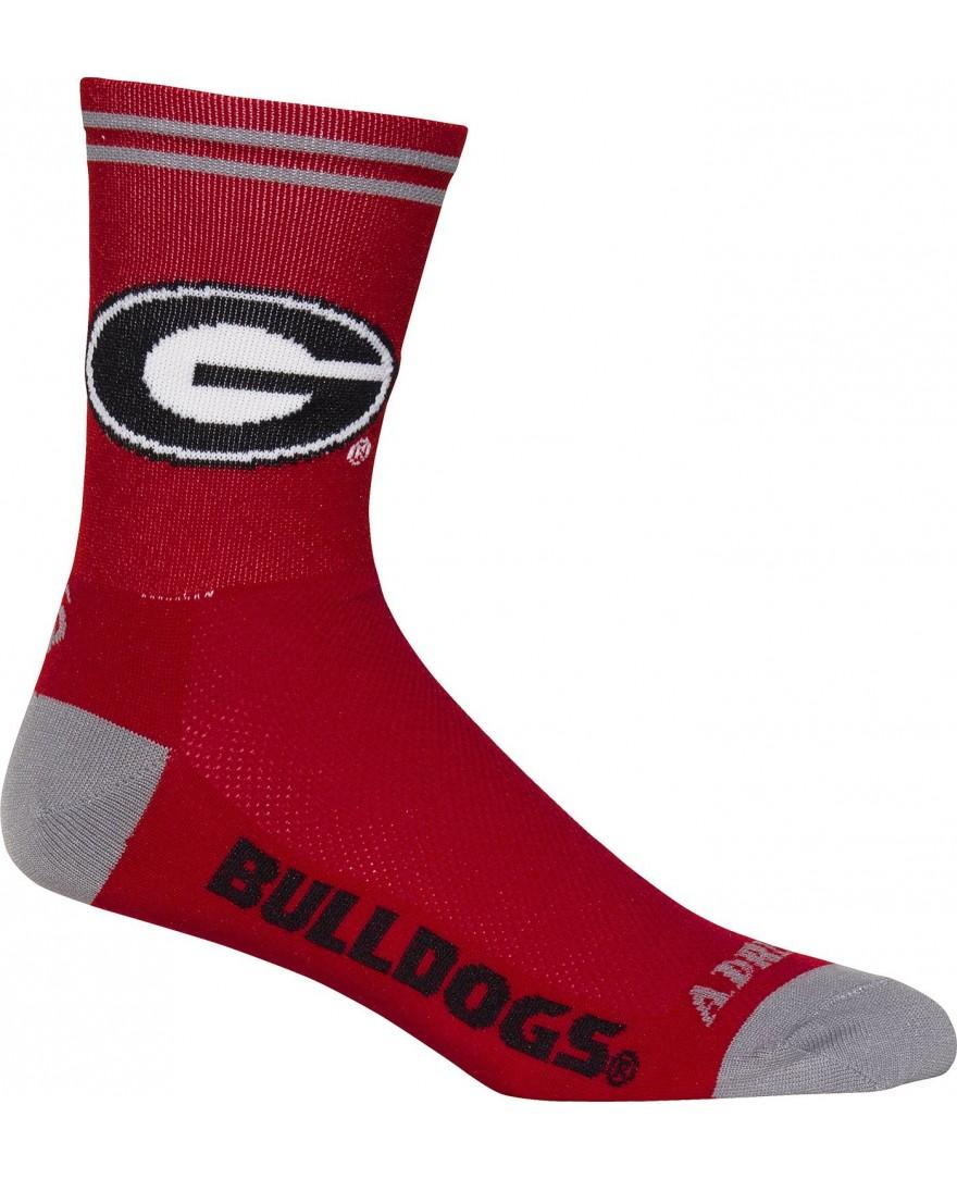 Georgia Bulldogs Cycling Socks