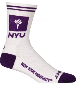 NYU Cycling Socks