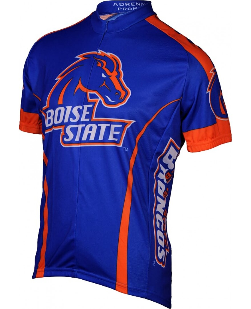 Boise State Broncos Mens Cycling Jersey Blue