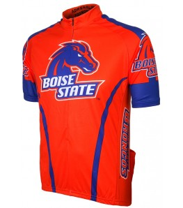 Boise State Broncos Mens Cycling Jersey Orange