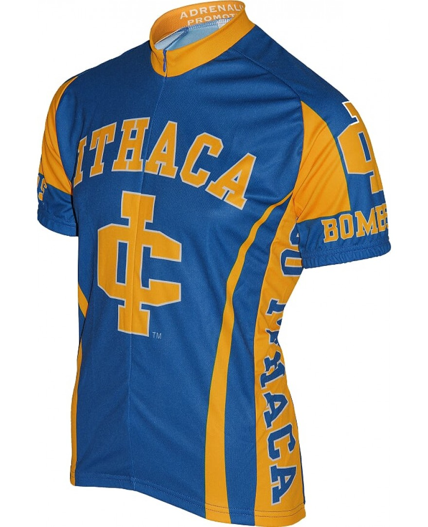 Ithaca College Bombers Mens Cycling Jersey