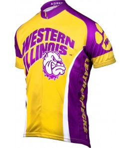 Western Illinois Leathernecks Mens Cycling Jersey