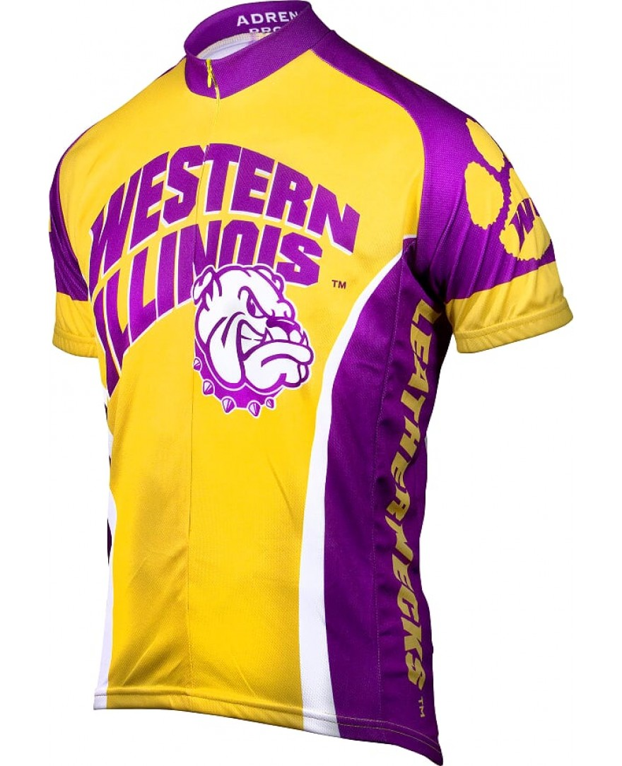 buy online 0afe9 024a0 Western Illinois Leathernecks Mens Cycling Jersey - Men's ...