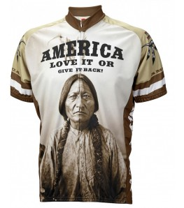 America Love it or Give it Back Mens Cycling Jersey
