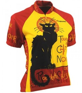 Chat Noir Womens Cycling Jersey