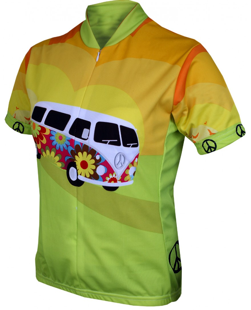 Hippy Van Womens Cycling Jersey