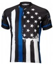 Thin Blue Line Mens Cycling Jersey