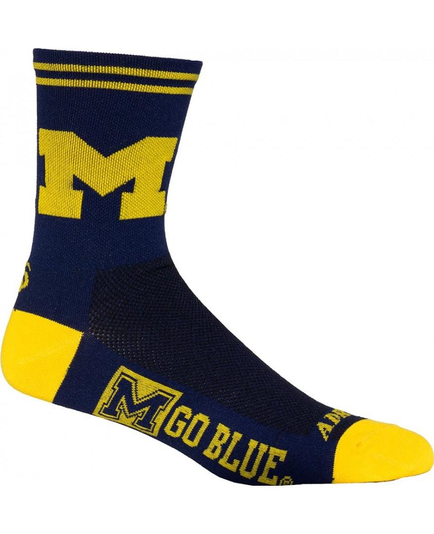 Michigan University Wolverines Cycling Socks
