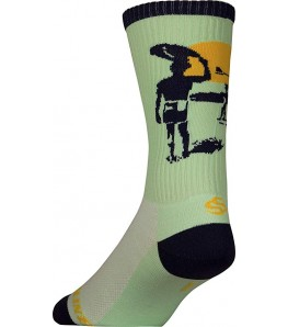 The Endless Summer Sea Foam Cycling Socks