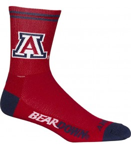 Arizona University Wildcats Cycling Socks