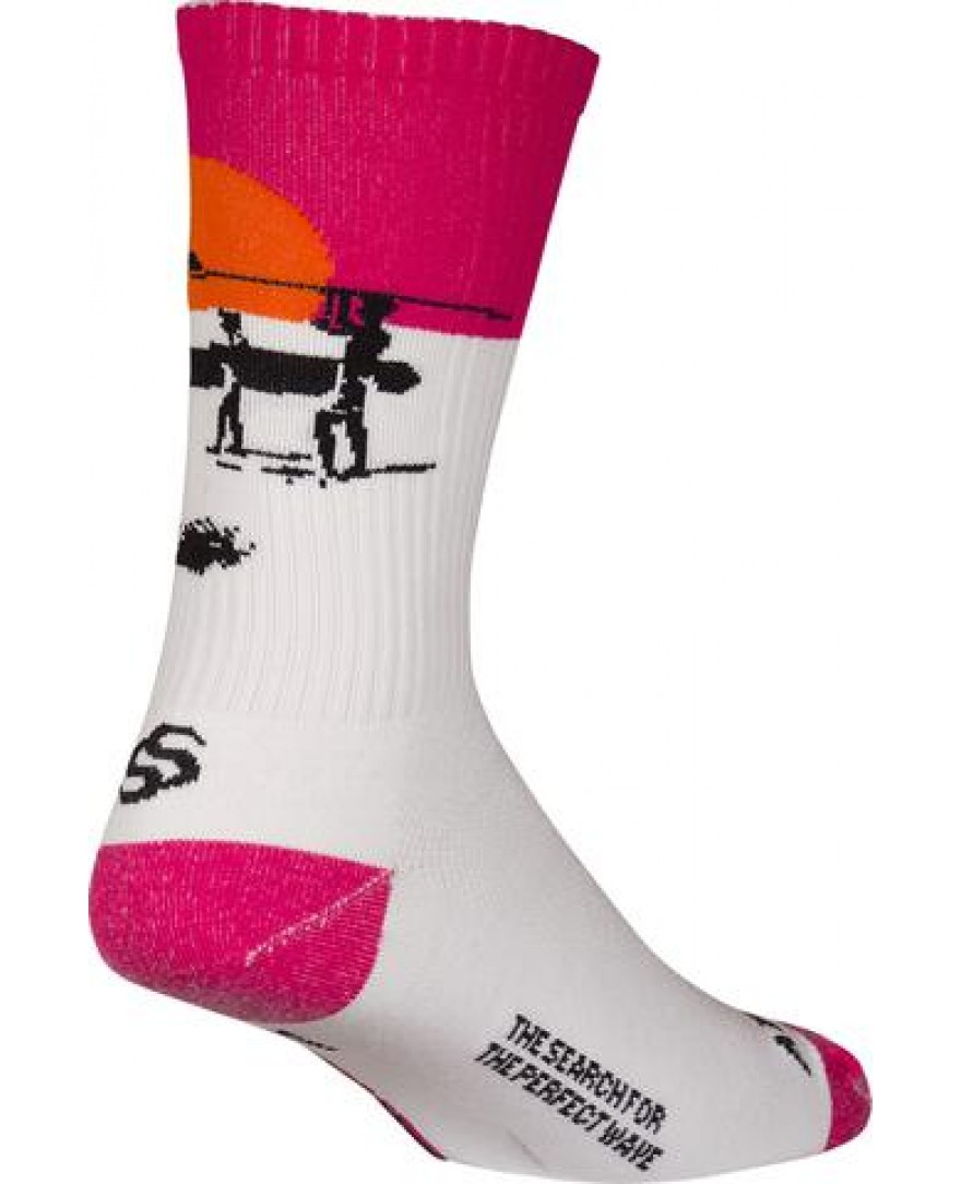 The Endless Summer Coolmax Cycling Socks White