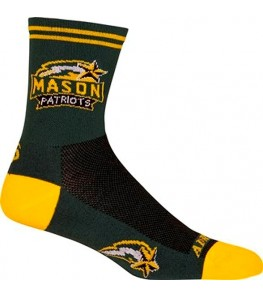 George Mason University Patriots Cycling Socks