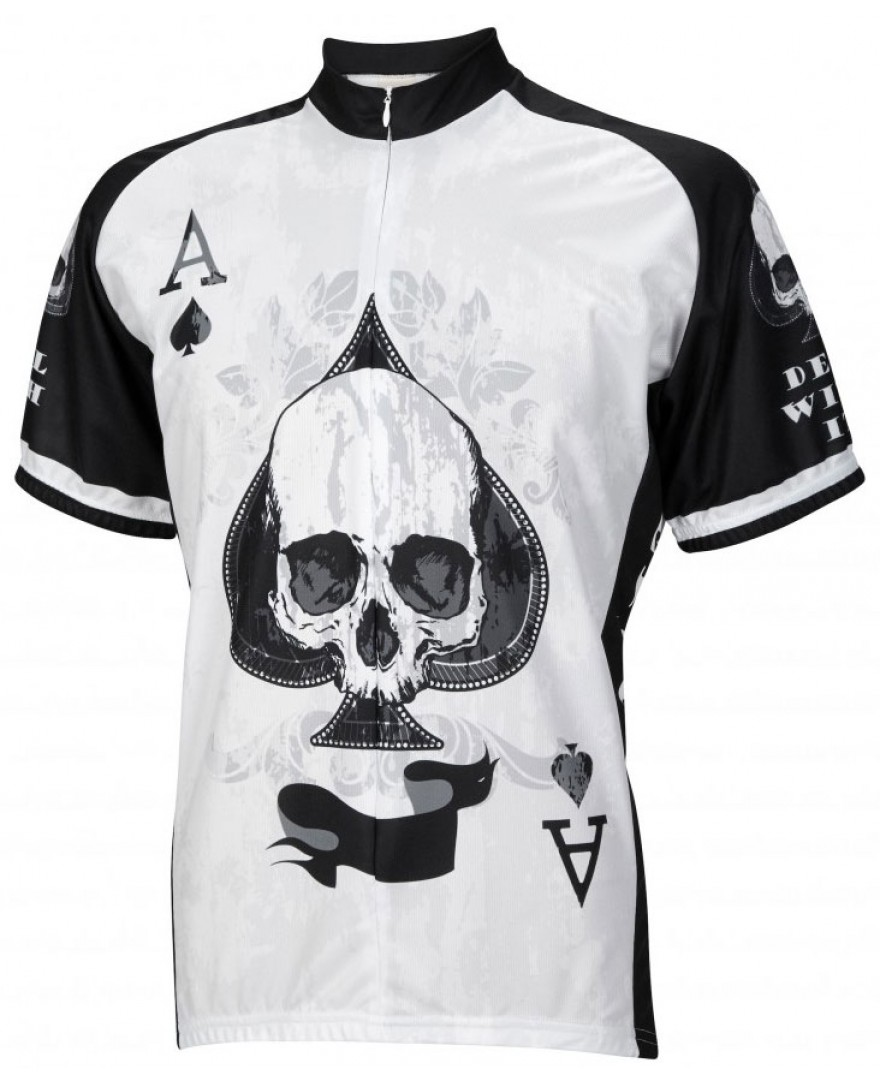 Ace of Spades Mens Cycling Jersey