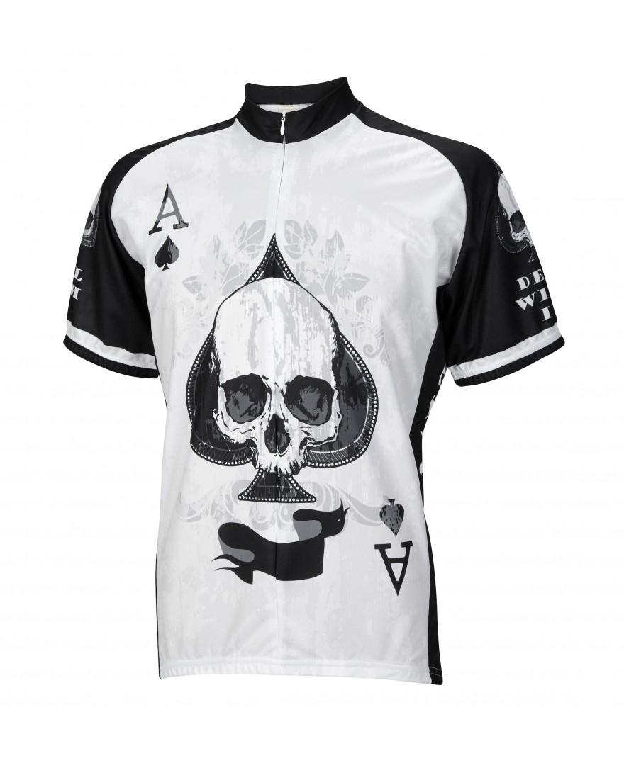 Ace of Spades Mens Cycling Jersey - Men's Cycling Jerseys ...