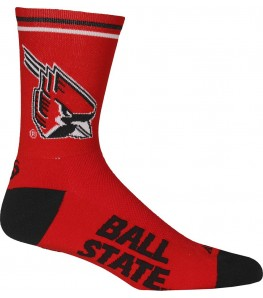 Ball State University Cycling Socks