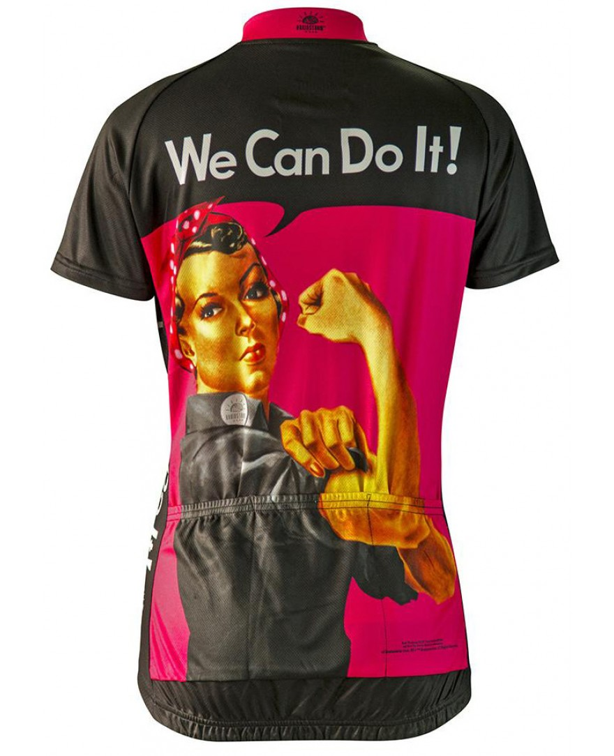 Brainstorm Gear Rosie the Riveter Womens Cycling Jersey - Men s ... a042ee580