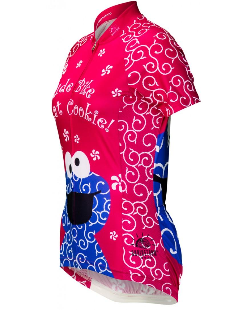 ac7a1e0fd Brainstorm Gear Cookie Monster Womens Cycling Jersey Pink - Men s ...