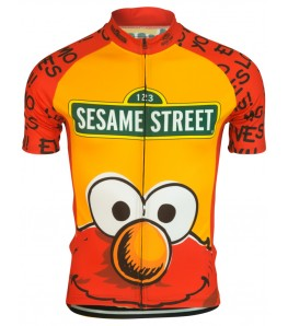 Sesame Street Elmo Mens Cycling Jersey