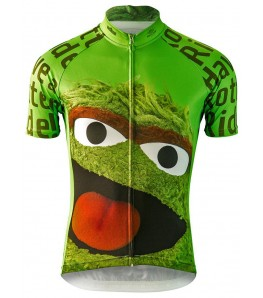 Oscar the Grouch Mens Cycling Jersey