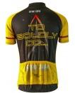 Star Trek Command Mens Cycling Jersey Gold