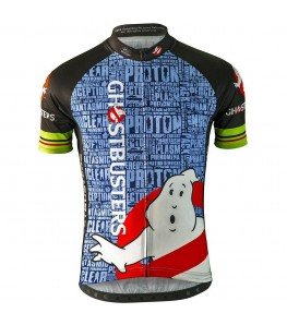Ghostbusters Slimer Mens Cycling Jersey
