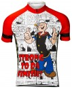 Popeye Strong to da Finish Mens Cycling Jersey