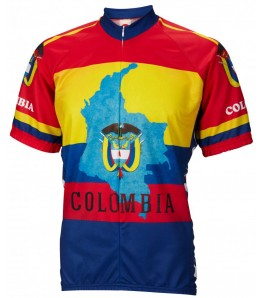 Colombia Mens Cycling Jersey