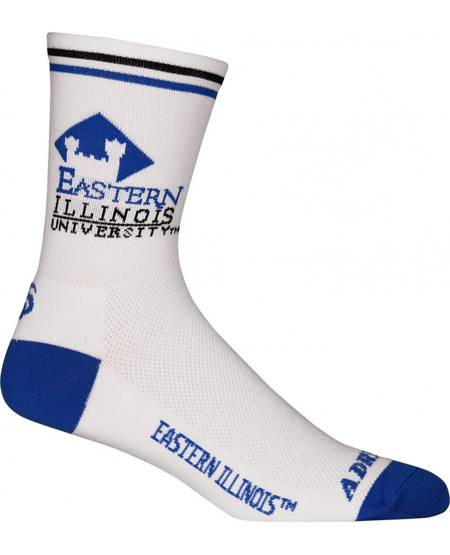 Eastern Illinois University Cycling Socks