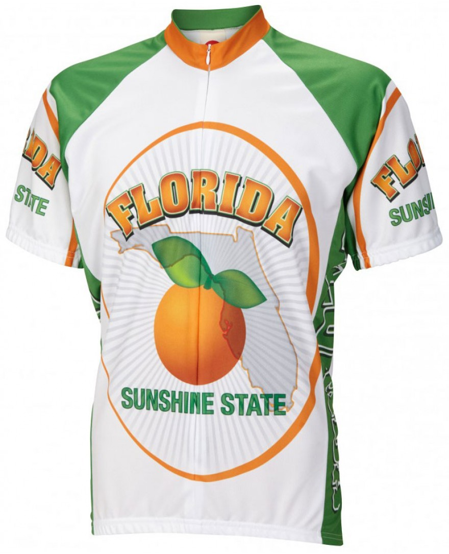 Florida Mens Cycling Jersey