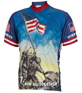 Iwo Jima Mens Cycling Jersey