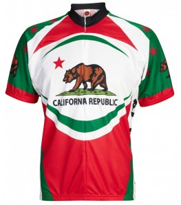 California Bear Mens Cycling Jersey