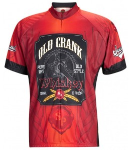 Old Crank Whiskey Mens Cycling Jersey