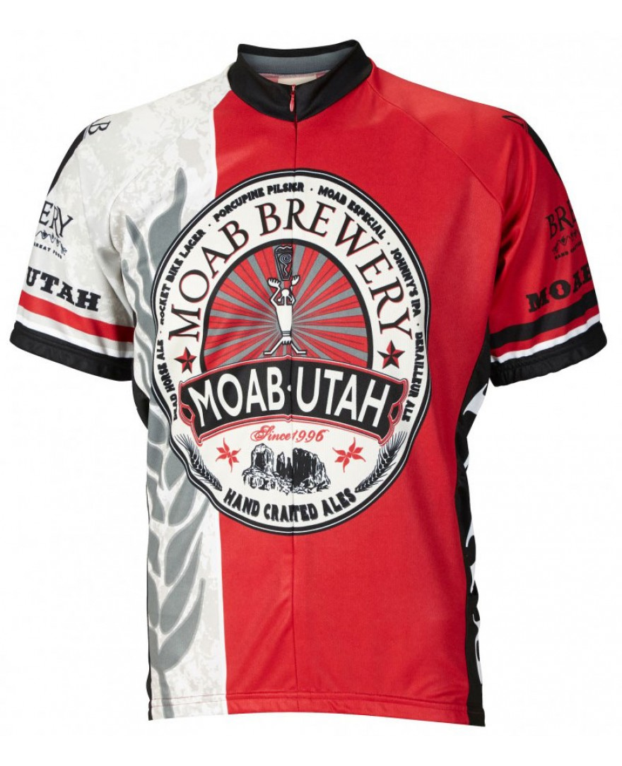 Moab Brewery Hoppy Mens Cycling Jersey
