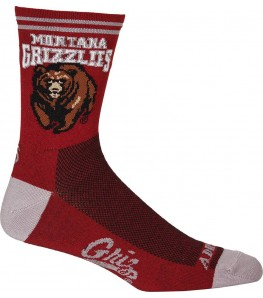 Montana Grizzlies Cycling Socks