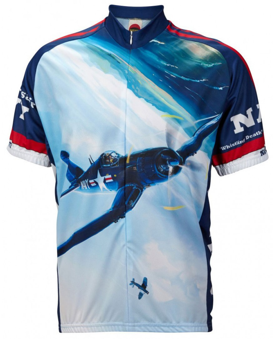 Navy Corsair Mens Cycling Jersey