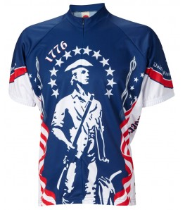 1776 Minutemen Mens Cycling Jersey