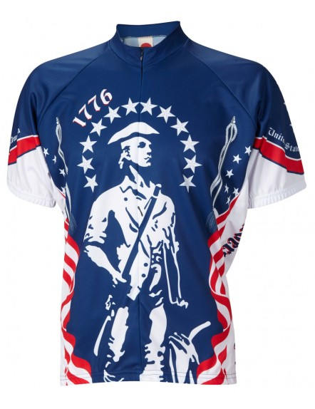 1776 Minutemen Mens Cycling Jersey