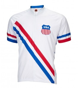 1948 USA Olympic Mens Cycling Jersey