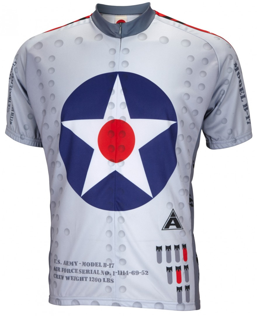 B-17 Flying Fortress Mens Cycling Jersey