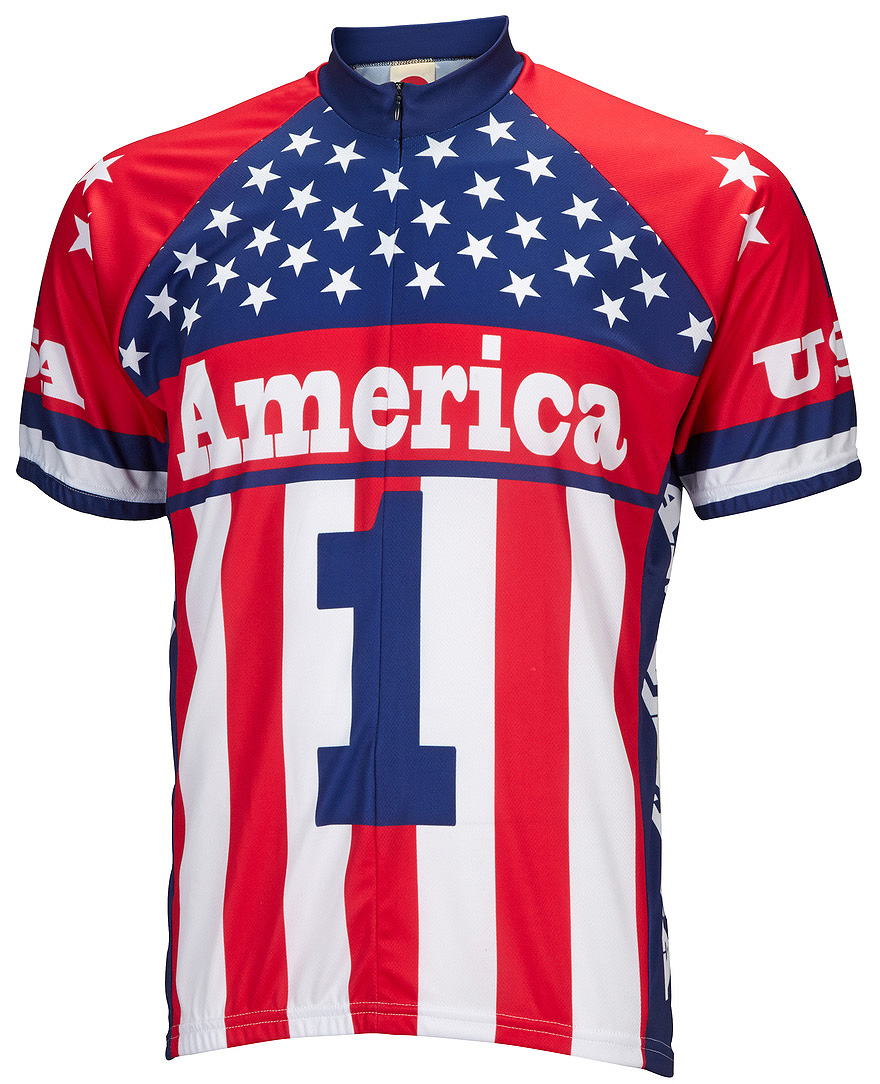 America One Mens Cycling Jersey