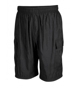 Mountain Bike Shorts with Cargo Pockets Black