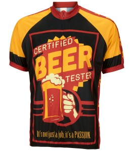 Certified Beer Tester Mens Cycling Jersey