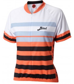 Formaggio Bici Womens Cycling Jersey Coral