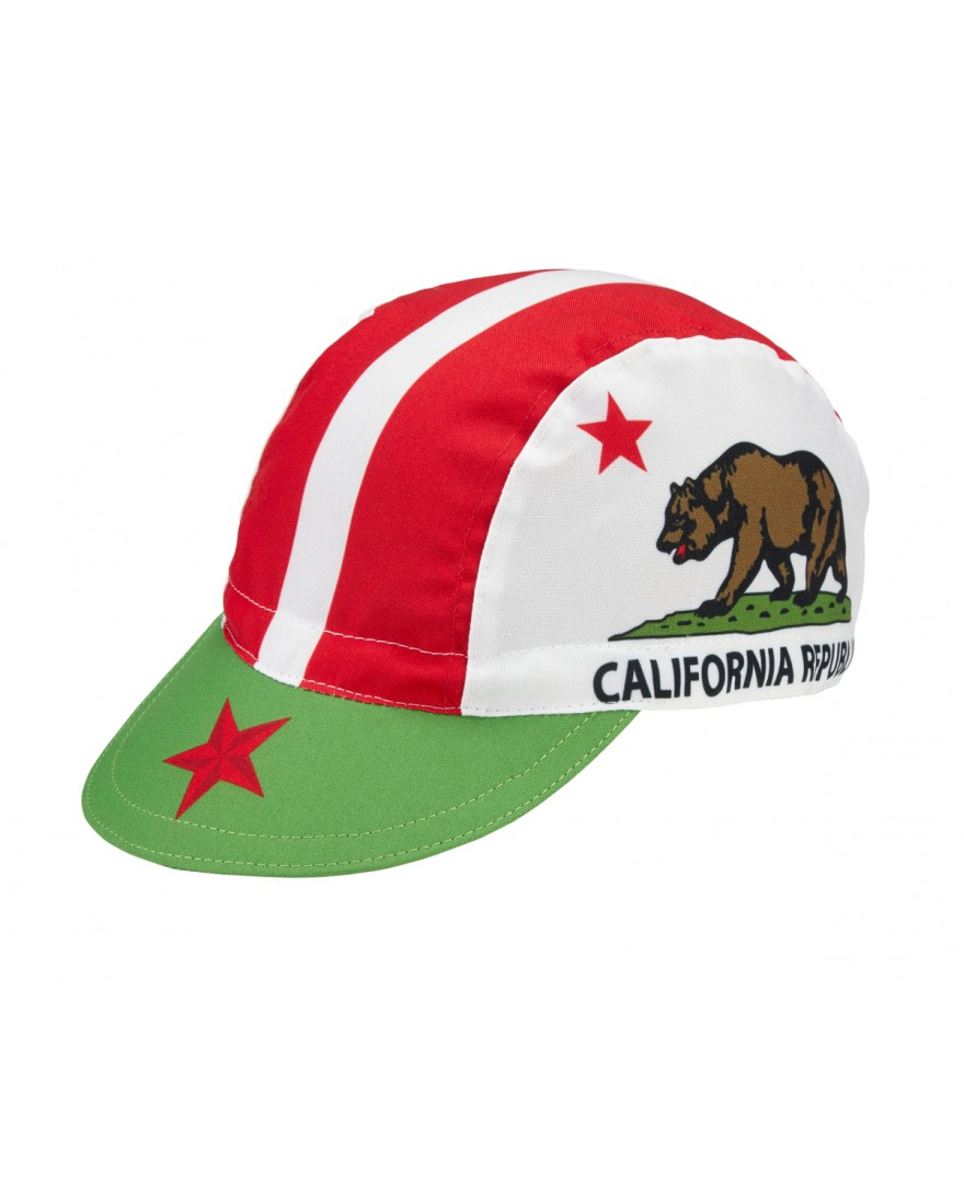 California Flag Cycling Cap
