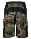 Outlaw Bullet Mens Mountain Bike Shorts Camo