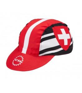 Switzerland Cycling Cap