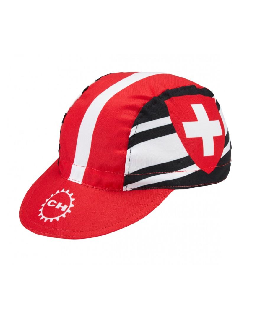 Switzerland Cycling Cap