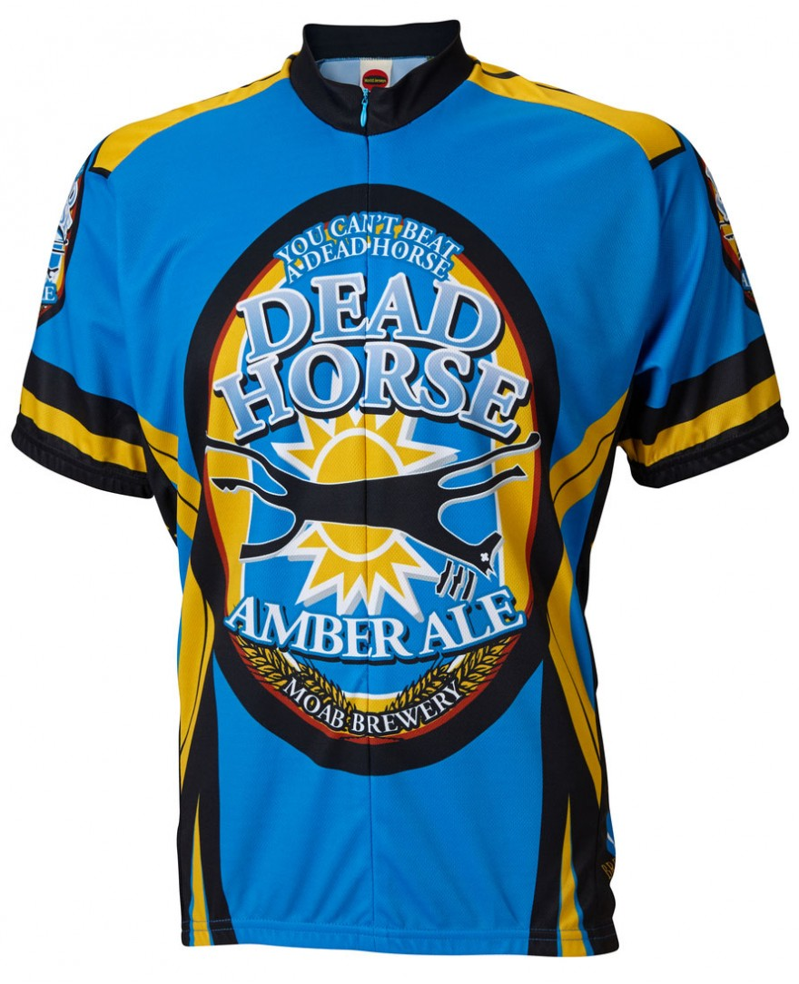 Moab Brewery Dead Horse Ale Mens Cycling Jersey
