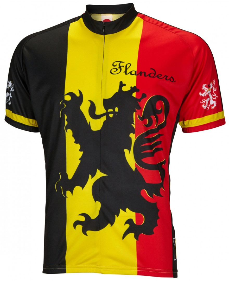 World Jerseys Lion of Flanders Cycling Jersey