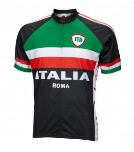 World Jerseys Italia Team Cycling Jersey